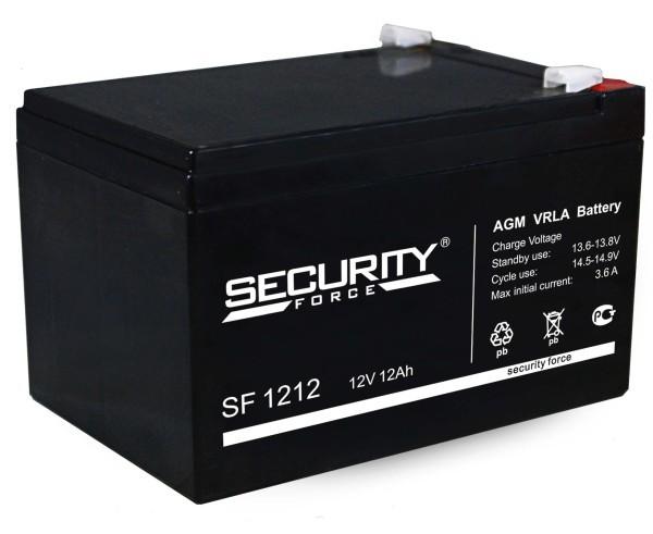 Аккумулятор 12В, 12 Ач гермитичный свинцово-кислотный